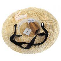 Dolce Wheat Straw Swinger Hat in