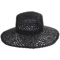 Sunnydip Seagrass Straw Boater Hat alternate view 2