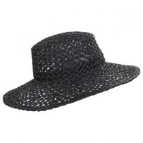 Sunnydip Seagrass Straw Boater Hat alternate view 3