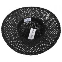 Sunnydip Seagrass Straw Boater Hat alternate view 4