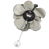 Petite Flower Hat Pin in