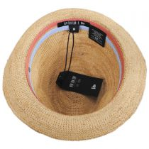 Crochet Raffia Straw Fedora Hat alternate view 4