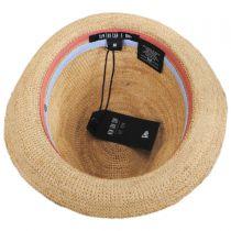 Crochet Raffia Straw Fedora Hat alternate view 8