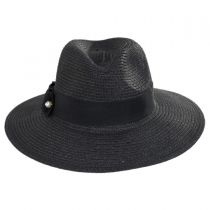 Ellery Toyo Straw Fedora Hat alternate view 2