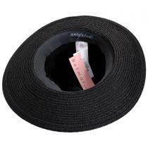 Ellery Toyo Straw Fedora Hat alternate view 4