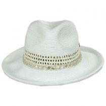 Cosmopolitan Toyo Straw Fedora Hat alternate view 2