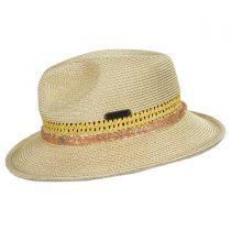 Cosmopolitan Toyo Straw Fedora Hat alternate view 7