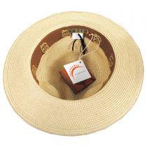 Cosmopolitan Toyo Straw Fedora Hat alternate view 8