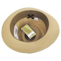 Luciano Hemp Straw Fedora Hat in