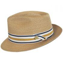 Luciano Hemp Straw Fedora Hat alternate view 15