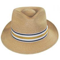 Luciano Hemp Straw Fedora Hat alternate view 22
