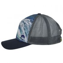 Shorebreak Trucker Snapback Baseball Cap in