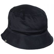 Reversible Dyed Oxford Cotton Bucket Hat in