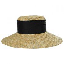 Louisa Milan Straw Boater Hat alternate view 2