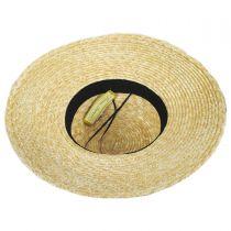 Louisa Milan Straw Boater Hat alternate view 4