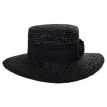 Barca Milan Straw Boater Hat alternate view 2
