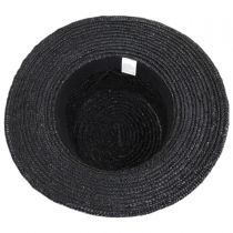 Barca Milan Straw Boater Hat in