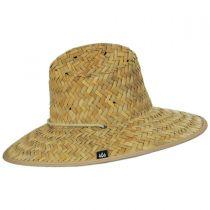 Khaki Straw Lifeguard Hat alternate view 3
