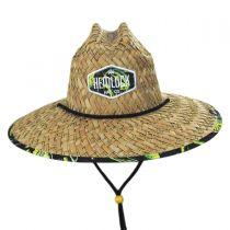 Mahi Mahi Straw Lifeguard Hat in