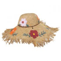 Fiore Raffia Straw Swinger Hat alternate view 3