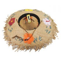 Fiore Raffia Straw Swinger Hat alternate view 4