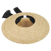 Giardino Raffia Straw Swinger Hat in