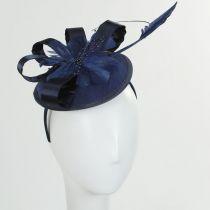 Marino Satin Bow Fascinator Hat alternate view 2