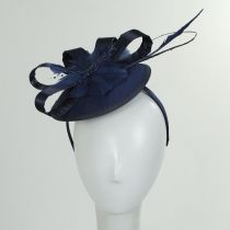 Marino Satin Bow Fascinator Hat alternate view 3