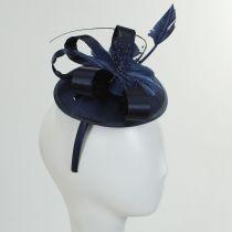 Marino Satin Bow Fascinator Hat alternate view 4