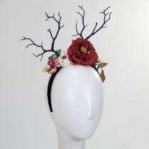 Red Rose Headband in