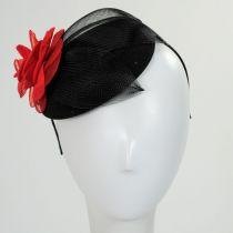 Rouge Noir Fascinator in