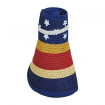 Summer Fun Toyo Straw Blend Roll-Up Visor alternate view 3