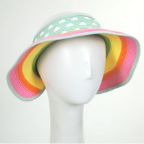 Summer Fun Toyo Straw Blend Roll-Up Visor alternate view 5