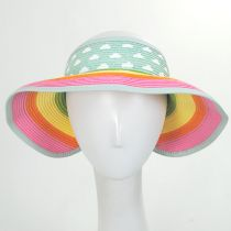 Summer Fun Toyo Straw Blend Roll-Up Visor alternate view 6