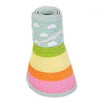 Summer Fun Toyo Straw Blend Roll-Up Visor alternate view 7