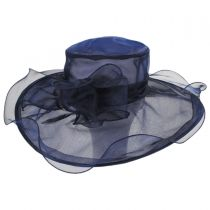 Annabelle Organza Boater Hat alternate view 2