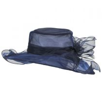 Annabelle Organza Boater Hat alternate view 3