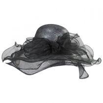 Solstice Sinamay Straw Swinger Hat in