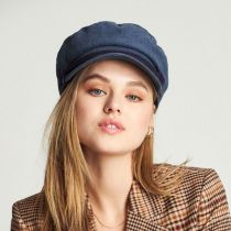 Corduroy Cotton Fiddler Cap in
