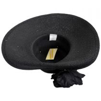 Blossom Toyo Straw Blend Off Face Hat alternate view 4