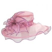 Envy Organza Boater Hat alternate view 2