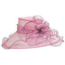 Envy Organza Boater Hat alternate view 3