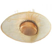 Benet Sinamay Straw Boater alternate view 4