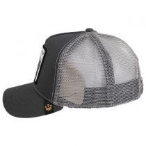 Silverback Trucker Snapback Baseball Cap - Gray alternate view 3