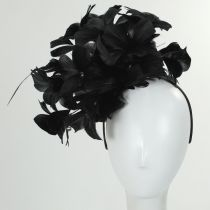 Araminta Feather Fascinator alternate view 3