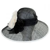 St. Clair Sinamay Straw Lampshade Hat in