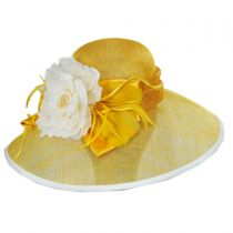 St. Clair Sinamay Straw Lampshade Hat alternate view 6