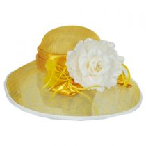 St. Clair Sinamay Straw Lampshade Hat alternate view 7