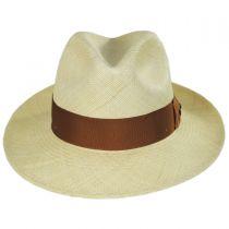 Safari Grade 8 Panama Straw Fedora Hat alternate view 6