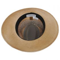 Peak View Shantung Straw Safari Fedora Hat alternate view 4